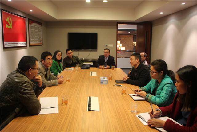 福鼎市委组织部查抄品品香非公企业党组织创立树模点